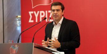 Ο πρωθυπουργός και πρόεδρος του ΣΥΡΙΖΑ Αλέξης Τσίπρας μιλάει στη συνεδρίαση της ΚΕ του ΣΥΡΙΖΑ, Κυριακή 23 Οκτωβρίου 2016. ΑΠΕ-ΜΠΕ/ΑΠΕ-ΜΠΕ/Αλέξανδρος Μπελτές