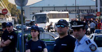 Ξεκίνησε το πρωί αστυνομική επιχείρηση για την εκκένωσης της δομής φιλοξενίας προσφύγων και μεταναστών στο  Ελληνικό , Παρασκευή 2 Ιουνίου 2017. ΑΠΕ-ΜΠΕ/ΑΠΕ-ΜΠΕ/Ορέστης Παναγιώτου