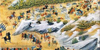 η-μάχη-των-Βασιλικών-πίνακας-του-Γιάννη-Μακρυγιάννη