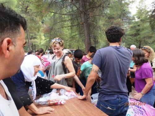 πρόσφυγες, Θερμοπύλες